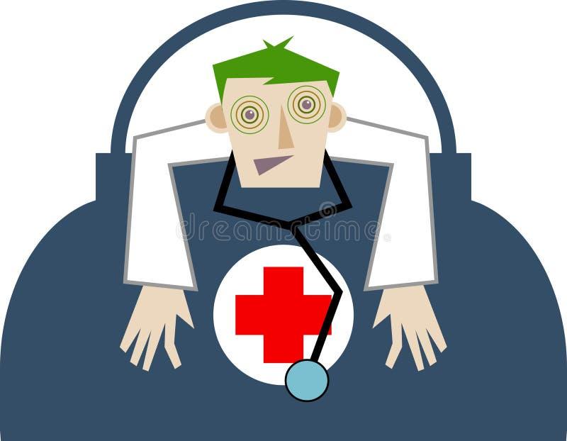 γιατρός διανυσματική απεικόνιση