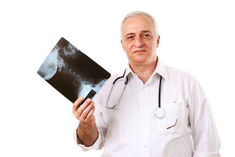 γιατρός chiropractor στοκ φωτογραφία με δικαίωμα ελεύθερης χρήσης