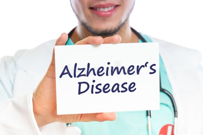 Γιατρών Alzheimers ασθενειών υγιής υγεία ασθένειας του Alzheimer Alzheimer ανεπαρκής στοκ φωτογραφία