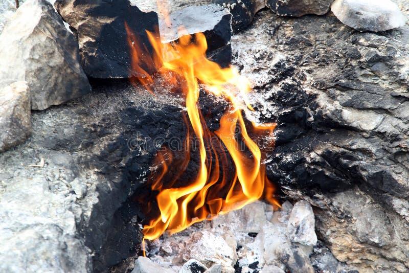 Για πάντα καίγοντας κινηματογράφηση σε πρώτο πλάνο πυρκαγιάς χιμαιρών στοκ εικόνα με δικαίωμα ελεύθερης χρήσης