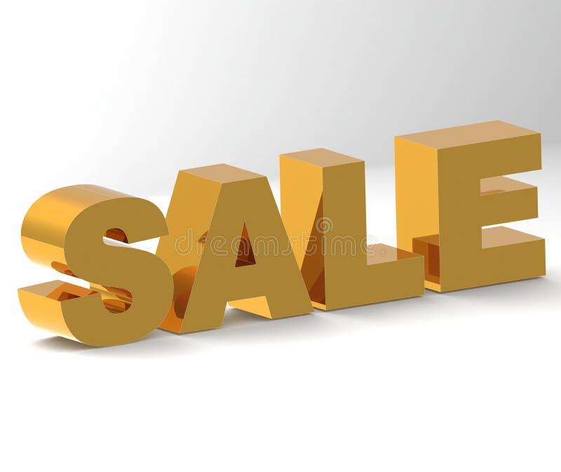 Για την πώληση διανυσματική απεικόνιση