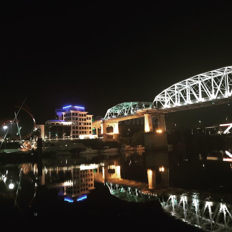 Για τους πεζούς γέφυρα στοκ εικόνες