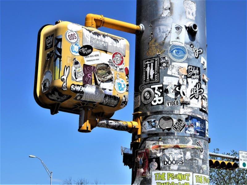 Για τους πεζούς σήμα περιπάτων, Ώστιν, Τέξας στοκ εικόνες με δικαίωμα ελεύθερης χρήσης