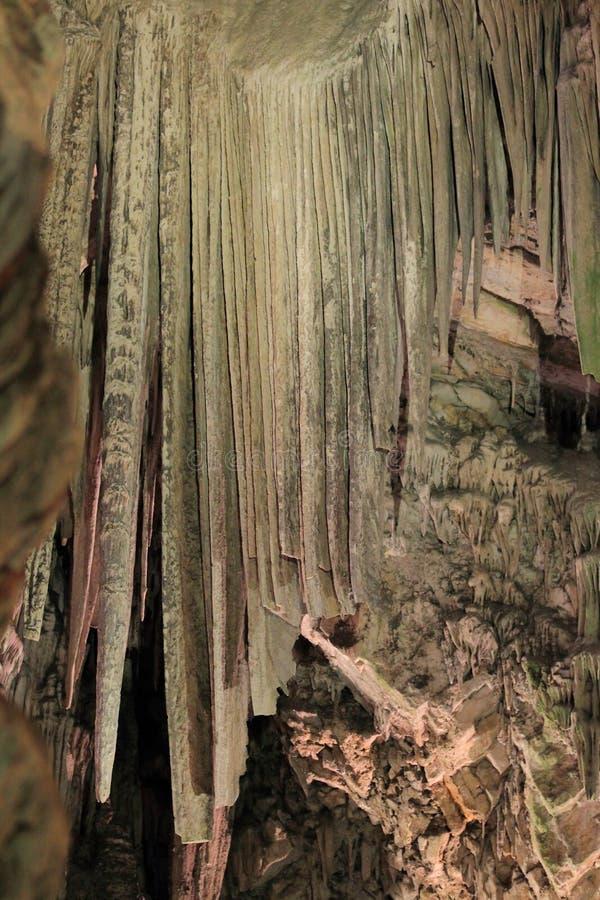 Γιβραλτάρ - σπηλιά του ST Michael στοκ φωτογραφία με δικαίωμα ελεύθερης χρήσης