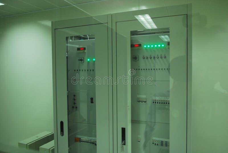 Γιγαντιαίοι κεντρικοί υπολογιστές υπολογιστών στοκ εικόνα