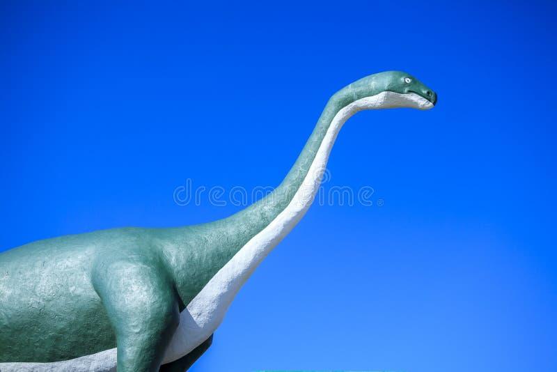 Γιγαντιαίος, χορτοφάγος δεινόσαυρος στοκ εικόνα