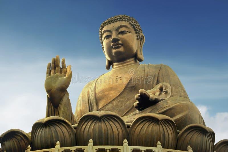 γιγαντιαίο άγαλμα του Βούδα στοκ εικόνες