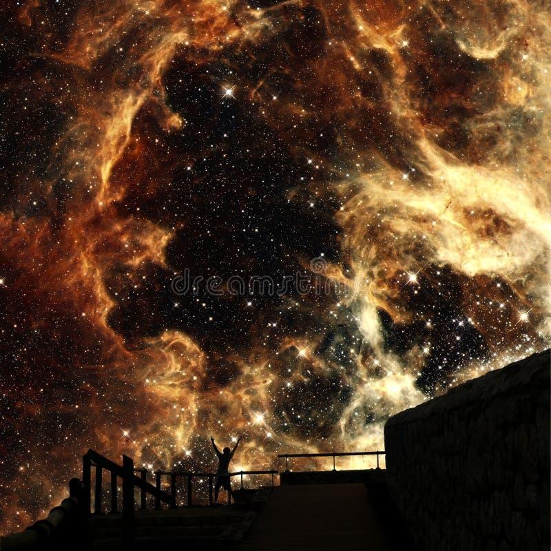 Γιοι των αστεριών (στοιχεία αυτής της εικόνας που εφοδιάζεται από τη NASA) στοκ φωτογραφίες