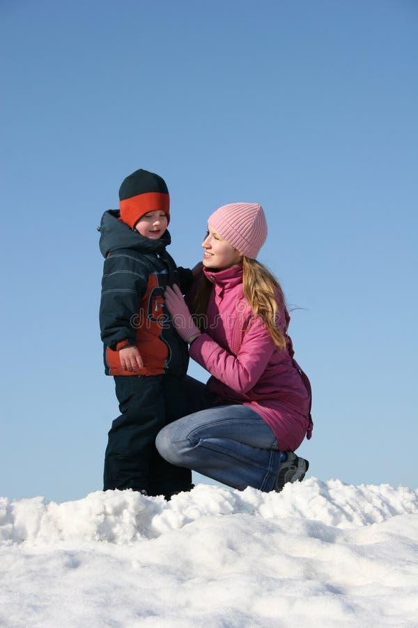 Download γιος μητέρων στοκ εικόνα. εικόνα από παιδί, κατσίκι, χαρούμενος - 1530425