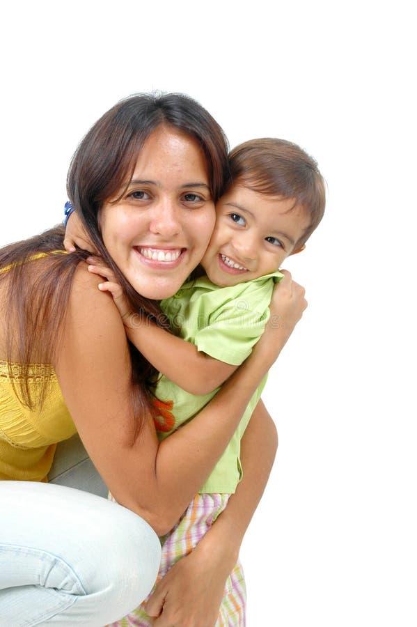 Download γιος μητέρων στοκ εικόνα. εικόνα από lifestyle, χαρούμενος - 1548327