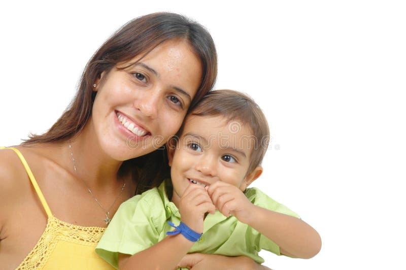 Download γιος μητέρων στοκ εικόνες. εικόνα από βουρτσίσματος, ευτυχία - 1548400