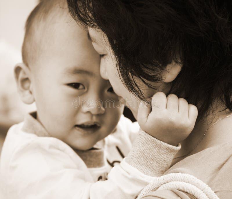 γιος μητέρων στοκ φωτογραφία με δικαίωμα ελεύθερης χρήσης