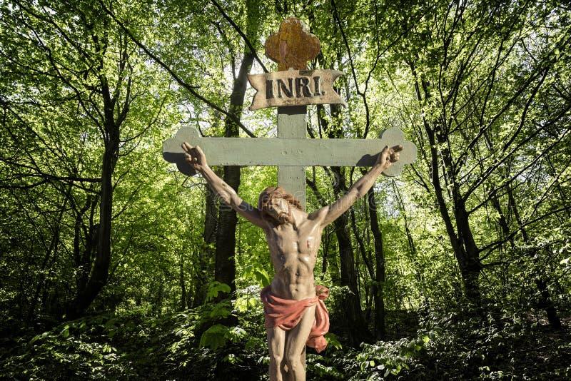 Γιος του Ιησούς Χριστού INRI του Θεού στοκ φωτογραφία με δικαίωμα ελεύθερης χρήσης
