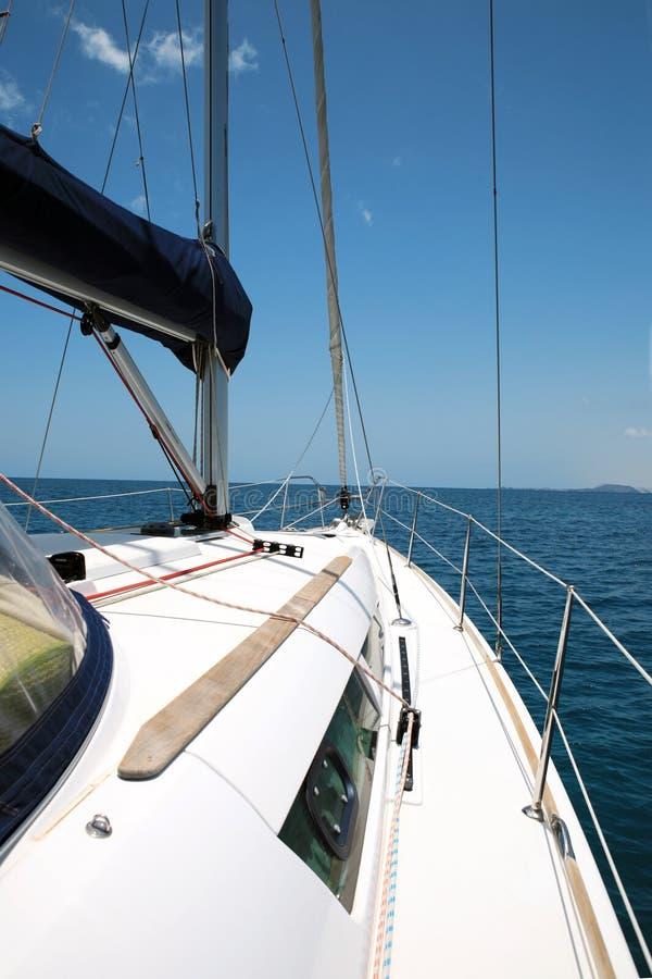 γιοτ θάλασσας στοκ φωτογραφία με δικαίωμα ελεύθερης χρήσης