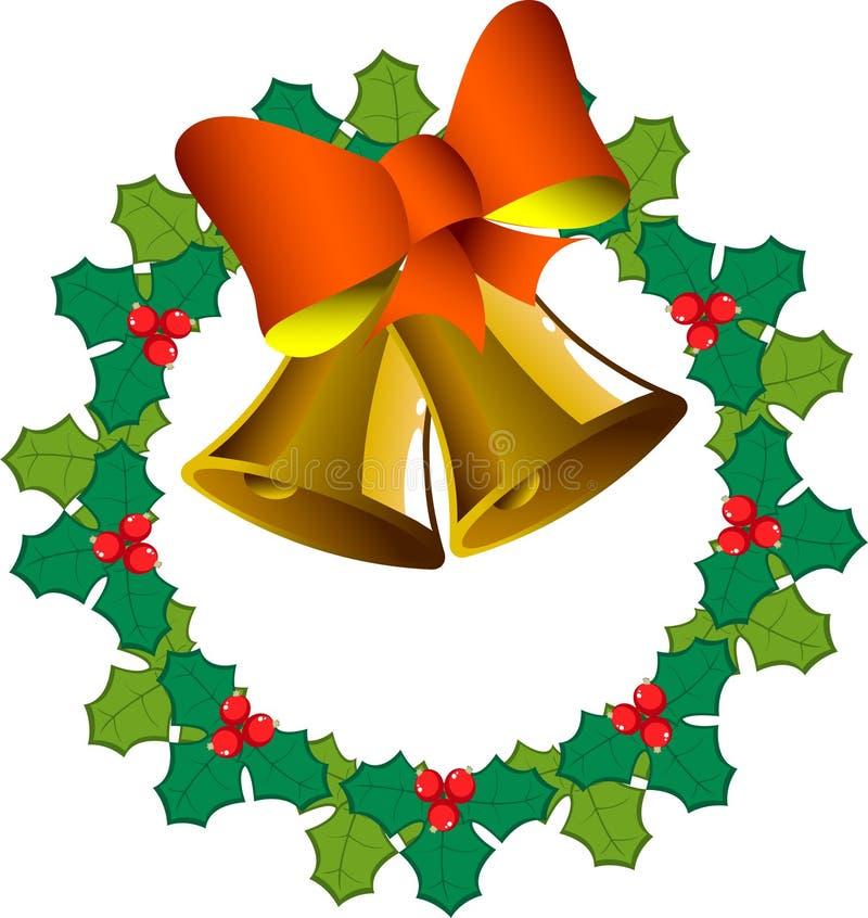 γιρλάντα Χριστουγέννων κ&omic διανυσματική απεικόνιση