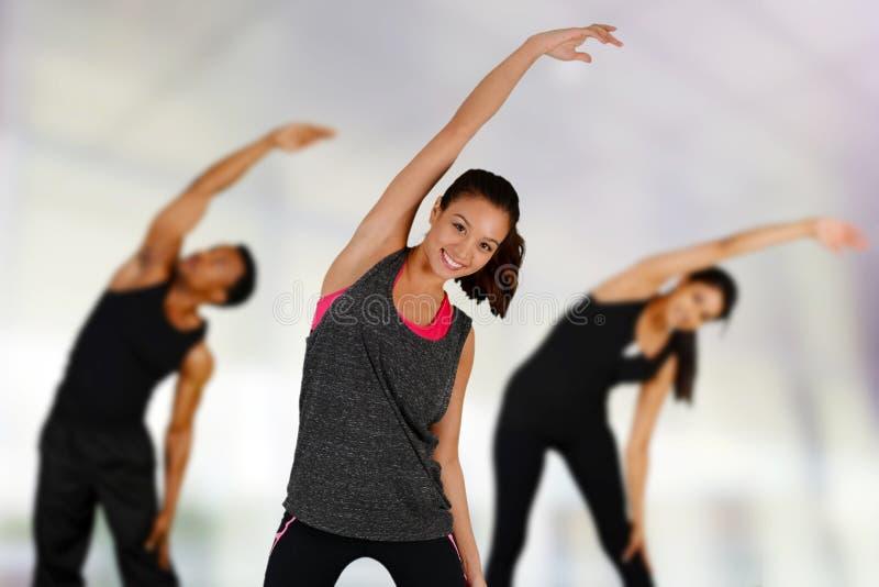Γιόγκα Workout στοκ εικόνα