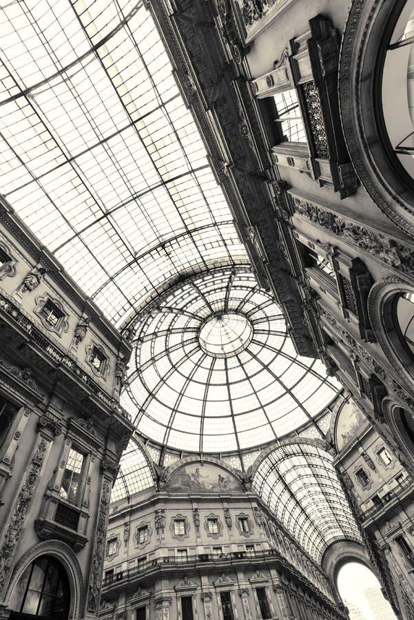 Γκαλερί τέχνης αγορών στο Μιλάνο, Ιταλία στοκ εικόνες