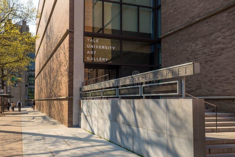 Γκαλερί τέχνης πανεπιστημίου Γέιλ στοκ εικόνα