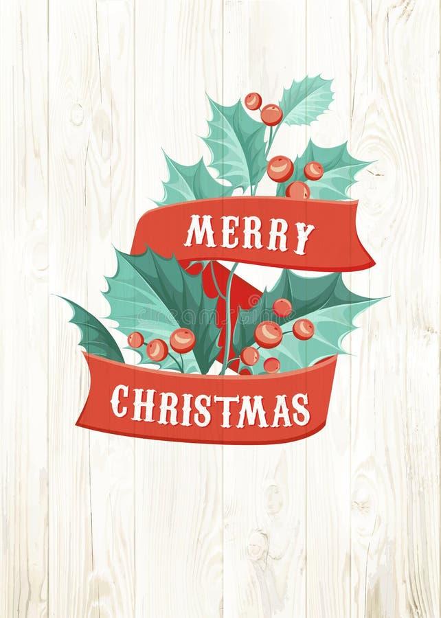 Γκι Χριστουγέννων απεικόνιση αποθεμάτων