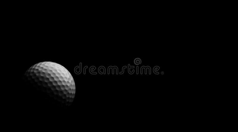 γκολφ μαυρίλας σφαιρών στοκ εικόνα με δικαίωμα ελεύθερης χρήσης