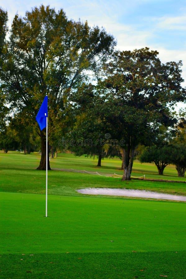 γκολφ πράσινο στοκ φωτογραφίες