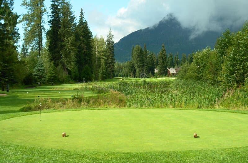 γκολφ σειράς μαθημάτων κιβωτίων από το γράμμα Τ στοκ φωτογραφίες με δικαίωμα ελεύθερης χρήσης