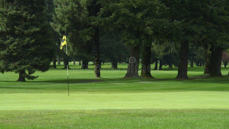 γκολφ σειράς μαθημάτων τ&omicr στοκ φωτογραφία