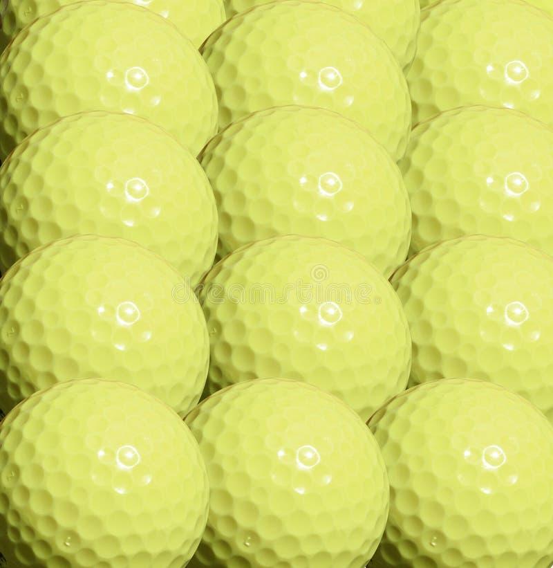 γκολφ σφαιρών ανασκόπηση&si στοκ εικόνες