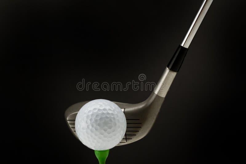 γκολφ σφαιρών από το γράμμα  στοκ φωτογραφίες