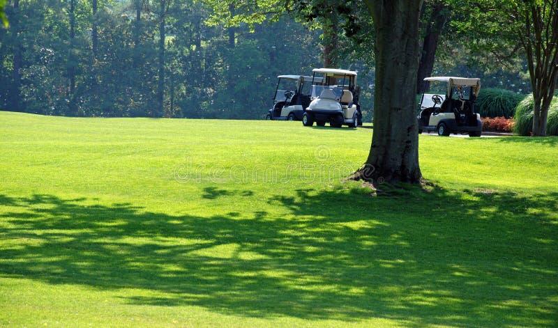 γκολφ 2 ημερών ηλιόλουστ&omi στοκ εικόνα