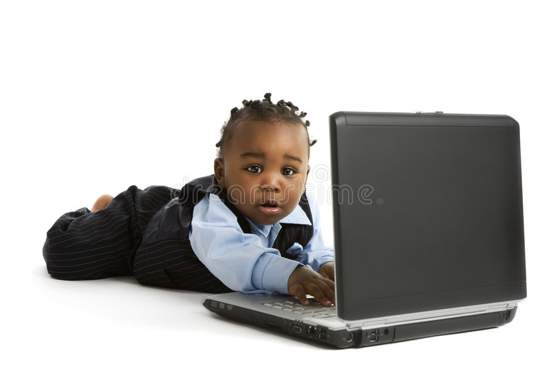 γκουρού υπολογιστών μι&k στοκ εικόνες