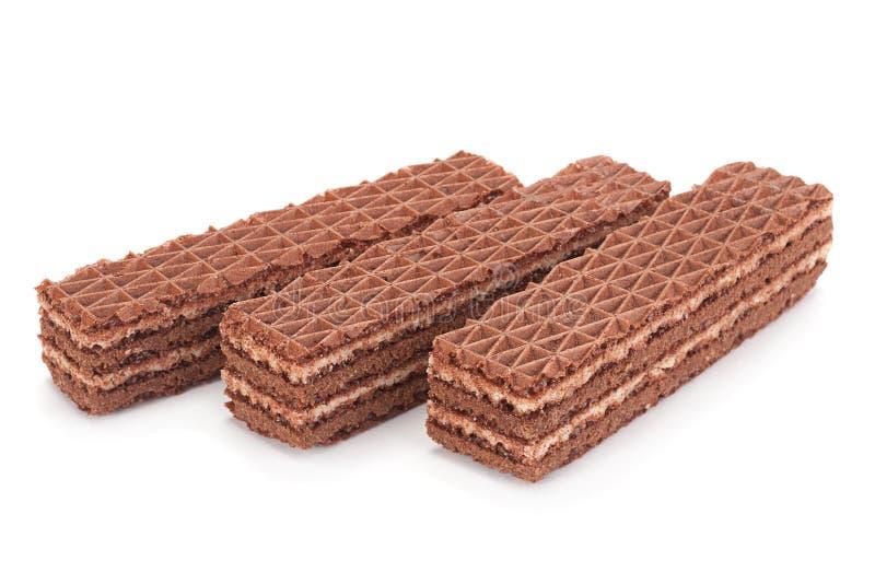 Γκοφρέτες γλυκιάς σοκολάτας στοκ φωτογραφία με δικαίωμα ελεύθερης χρήσης