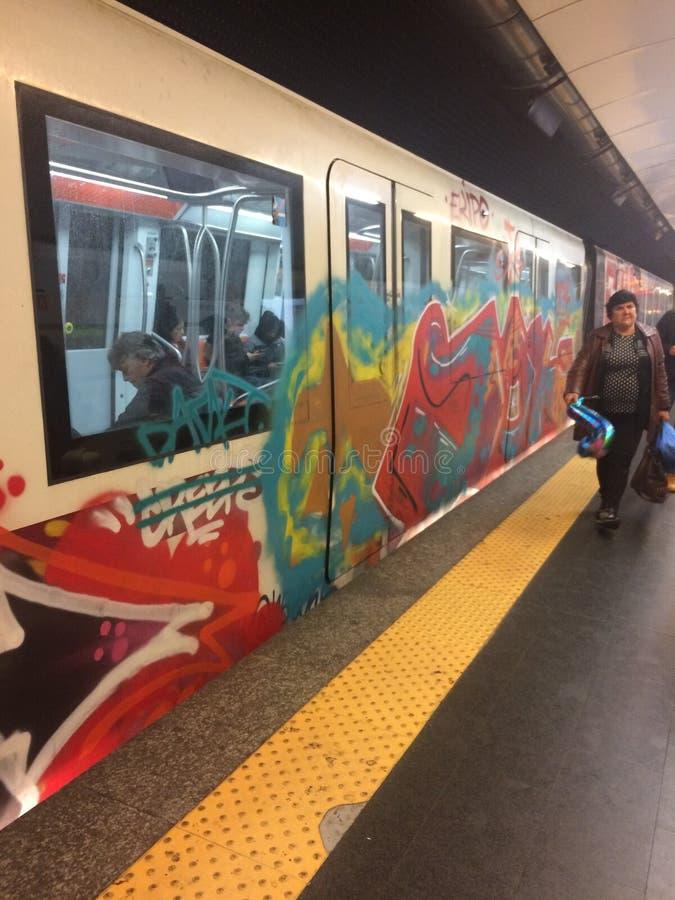 Γκράφιτι κάτι στοκ φωτογραφίες