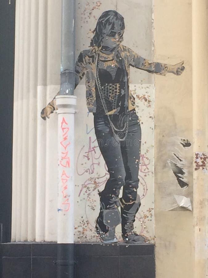 γκράφιτι πολιτικά στοκ φωτογραφία με δικαίωμα ελεύθερης χρήσης