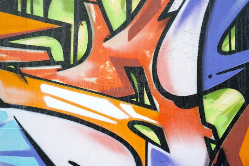 Γκράφιτι σε έναν τοίχο στοκ φωτογραφία