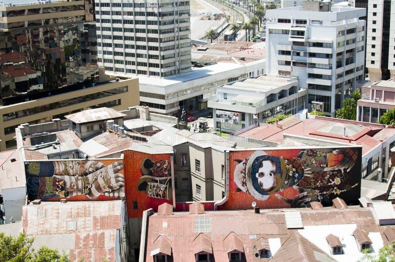 Γκράφιτι σε Valparaiso, Χιλή στοκ φωτογραφία με δικαίωμα ελεύθερης χρήσης
