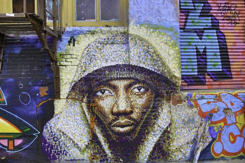 Γκράφιτι στην πόλη της Νέας Υόρκης στοκ εικόνα με δικαίωμα ελεύθερης χρήσης