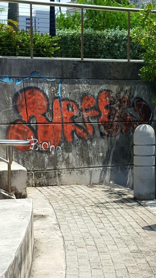 Γκράφιτι στο Πουέρτο Ρίκο στοκ εικόνες με δικαίωμα ελεύθερης χρήσης