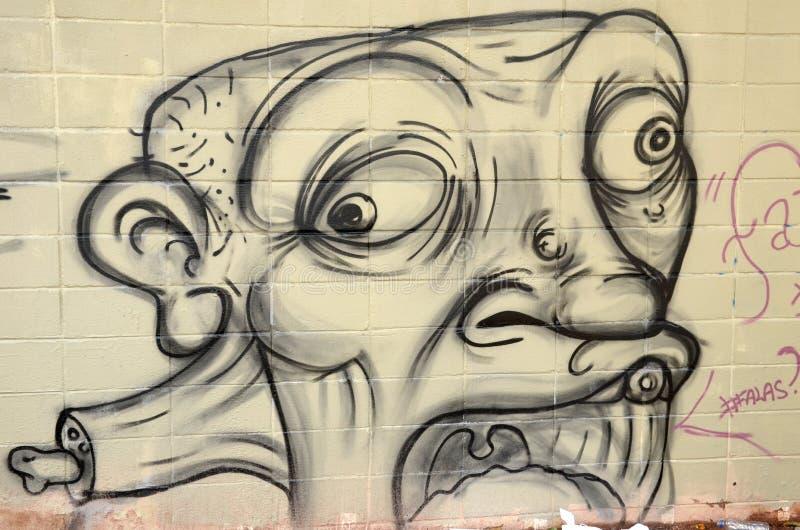 Γκράφιτι στο Σάο Πάολο στοκ εικόνες