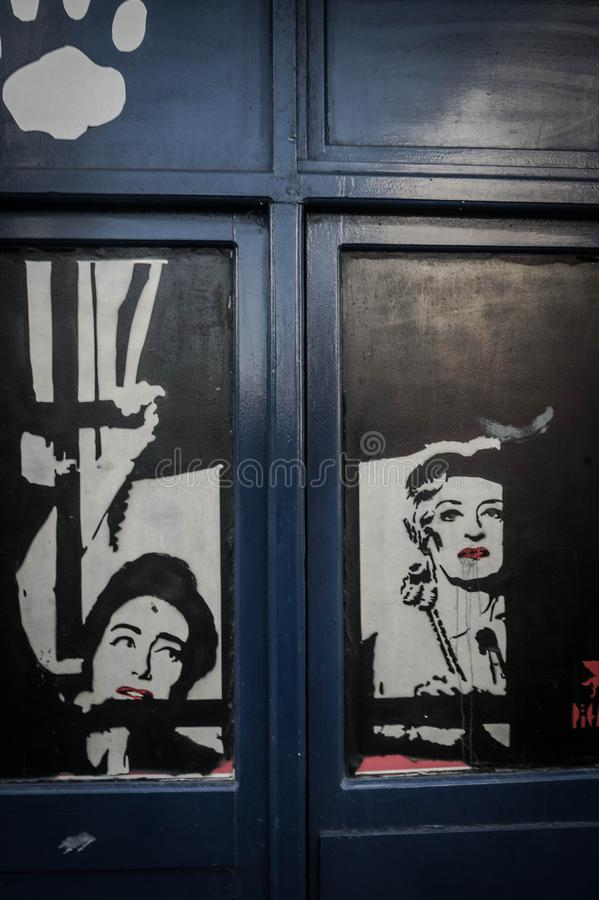 Γκράφιτι στοκ εικόνες με δικαίωμα ελεύθερης χρήσης