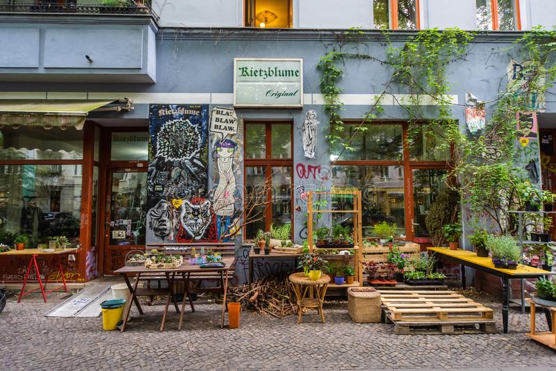 Γκράφιτι τοίχων στο hall of fame Kreuzberg Βερολίνο στοκ φωτογραφία