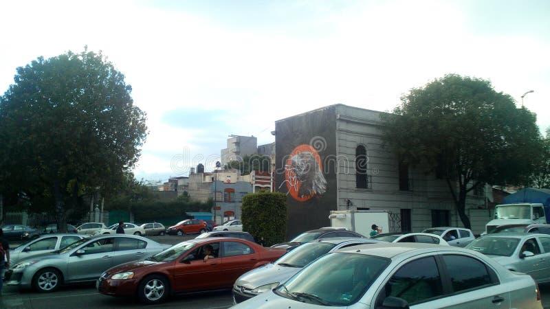 Γκράφιτι του Μεξικού στοκ φωτογραφία με δικαίωμα ελεύθερης χρήσης