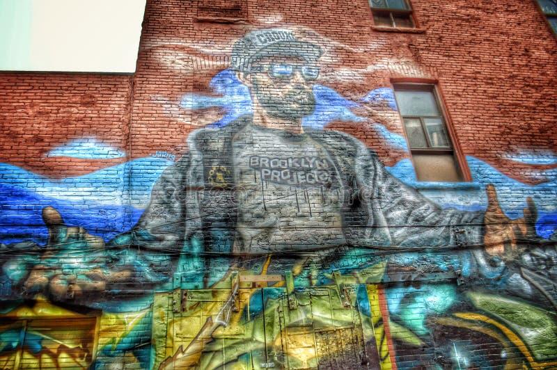 Γκράφιτι Joe στοκ εικόνα