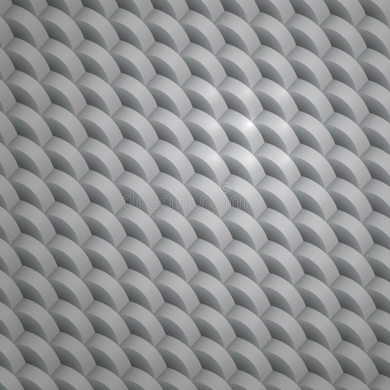 Γκρίζα γεωμετρική σύσταση. ελεύθερη απεικόνιση δικαιώματος