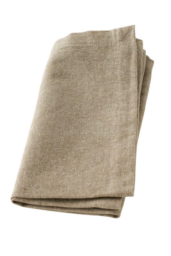γκρίζα πετσέτα στοκ εικόνες