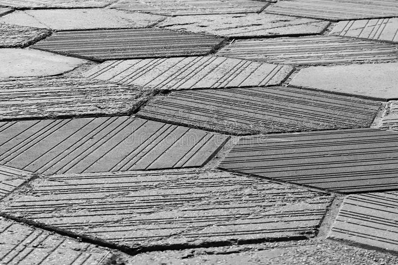 Γκρίζα σύσταση πεζοδρομίων στοκ εικόνες