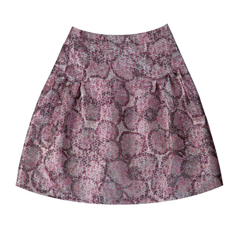 γκρίζα φούστα μεταξιού λ&omicro στοκ φωτογραφία