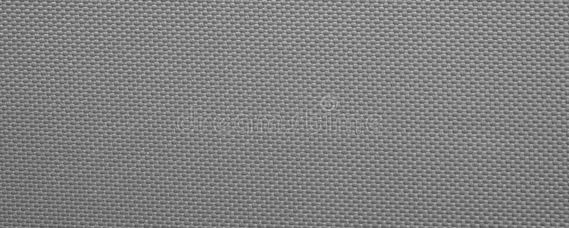 Γκρίζα χονδροειδής σύσταση υποβάθρου καμβά στοκ φωτογραφίες με δικαίωμα ελεύθερης χρήσης