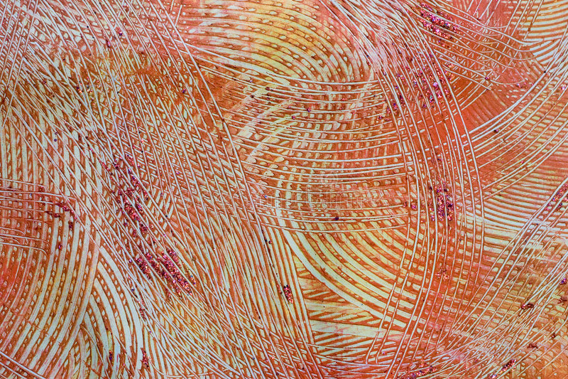 γκρίζοι πορτοκαλιοί κόκκινοι στρόβιλοι συρραφών εγγράφου στοκ εικόνα