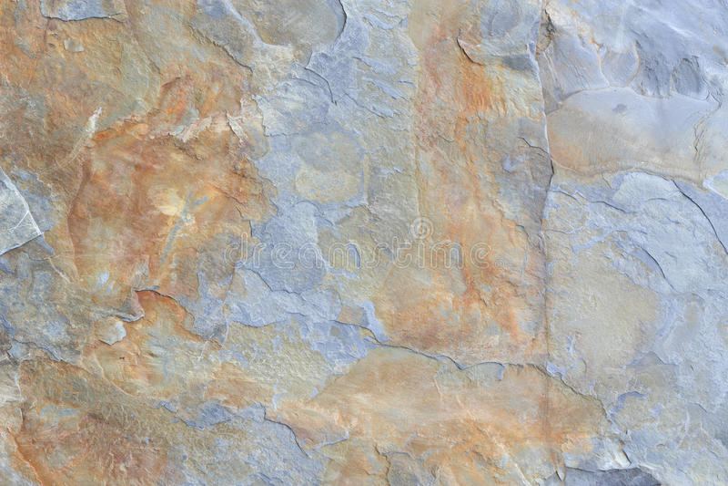 Γκρίζος και καφετής φραγμός της σύστασης πετρών σχιστόλιθου στοκ εικόνες